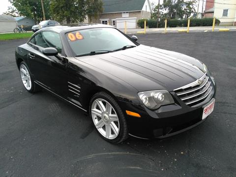 chrysler crossfire black interior. 2006 chrysler crossfire for sale in findlay oh black interior