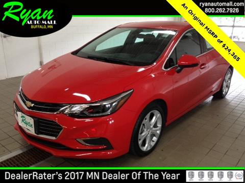 2017 Chevrolet Cruze for sale in Buffalo, MN