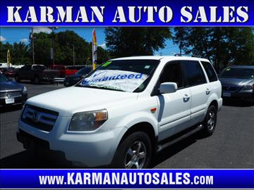 2007 Honda Pilot for sale in Lowell, MA