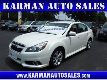 2013 Subaru Legacy for sale in Lowell, MA