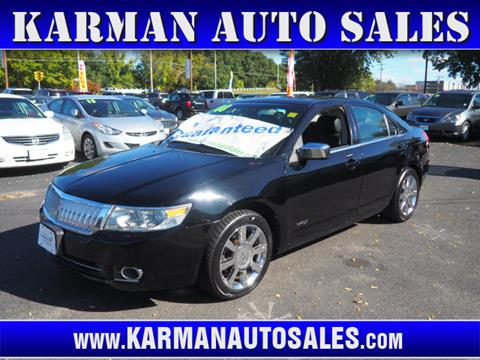2008 Lincoln MKZ for sale in Lowell, MA