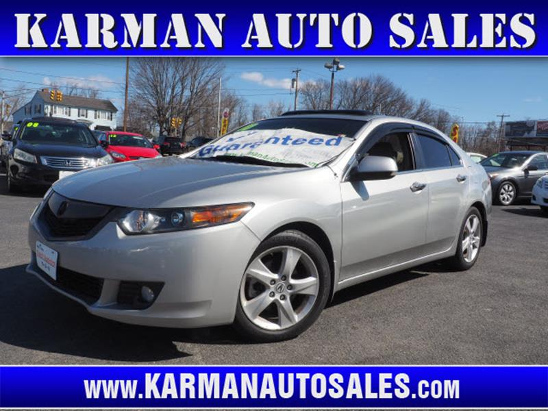 Acura Tsx Dr Sedan A WTechnology Package In Lowell MA - Acura tsx for sale in ma