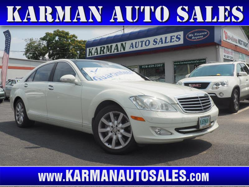 2008 Mercedes-Benz S-Class AWD S 550 4MATIC 4dr Sedan In Lowell MA