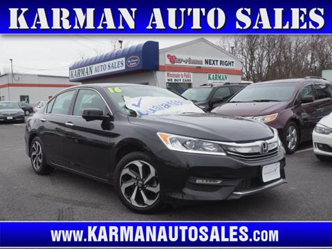 2016 Honda Accord for sale in Lowell, MA