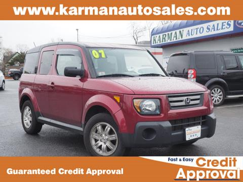 2007 Honda Element for sale in Lowell, MA