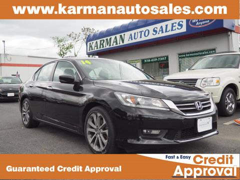 2014 Honda Accord for sale in Lowell, MA