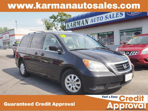 2010 Honda Odyssey for sale in Lowell, MA