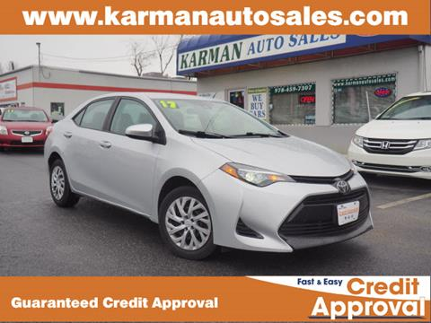 2017 Toyota Corolla for sale in Lowell, MA