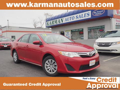 2012 Toyota Camry for sale in Lowell, MA