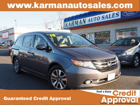 2014 Honda Odyssey for sale in Lowell, MA