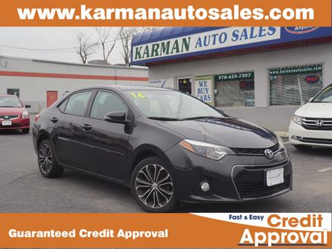 2016 Toyota Corolla for sale in Lowell, MA