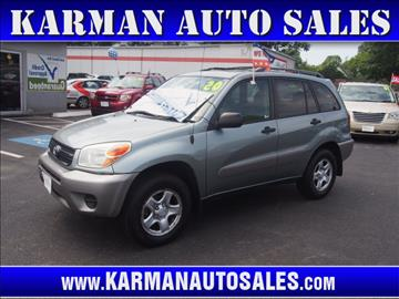2005 Toyota RAV4 for sale in Lowell, MA