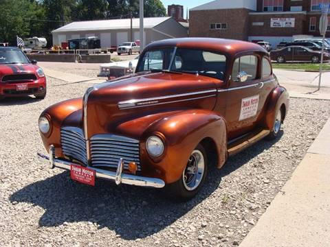 1941 Hudson Business Coupe for sale in Cherokee, IA