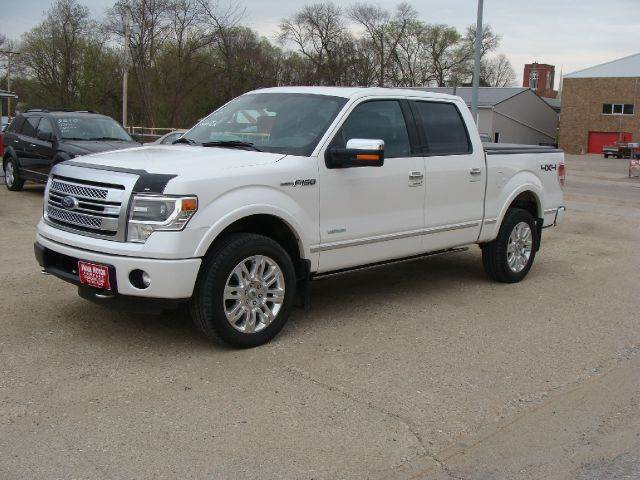2013 Ford F-150 4x4 Platinum 4dr SuperCrew Styleside 5.5 ft. SB - Cherokee IA