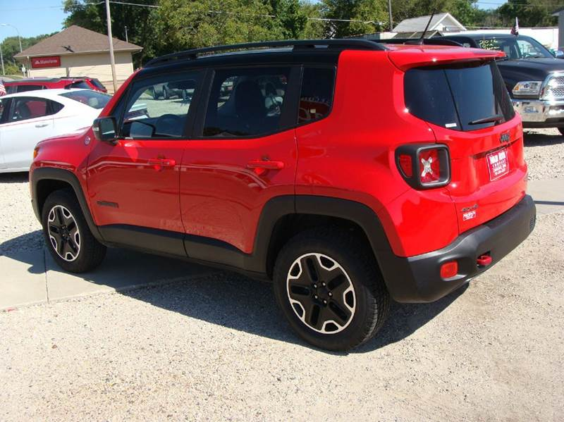2016 Jeep Renegade 4x4 Trailhawk 4dr SUV - Cherokee IA