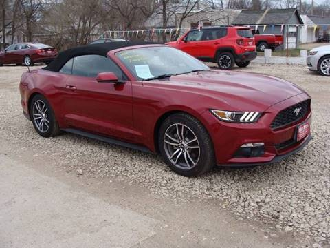 2017 Ford Mustang 2017 Ford Mustang ... & Ford Used Cars Pickup Trucks For Sale Cherokee Swain Motor Company markmcfarlin.com