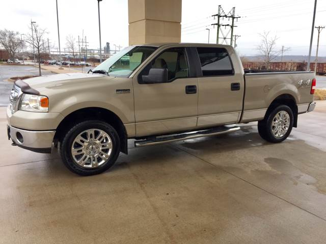 2008 Ford F-150 4x4 XLT 4dr SuperCrew Styleside 5.5 ft. SB - Bettendorf IA