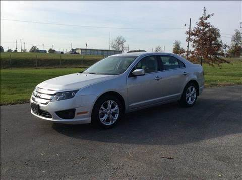 2012 Ford Fusion for sale at Sedalia Automotive in Sedalia MO