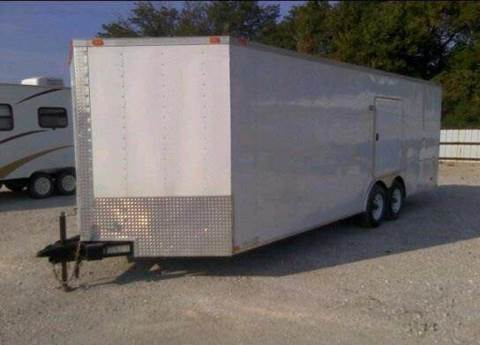 2008 Frontier 24ft. Car Hauler for sale at Sedalia Automotive in Sedalia MO