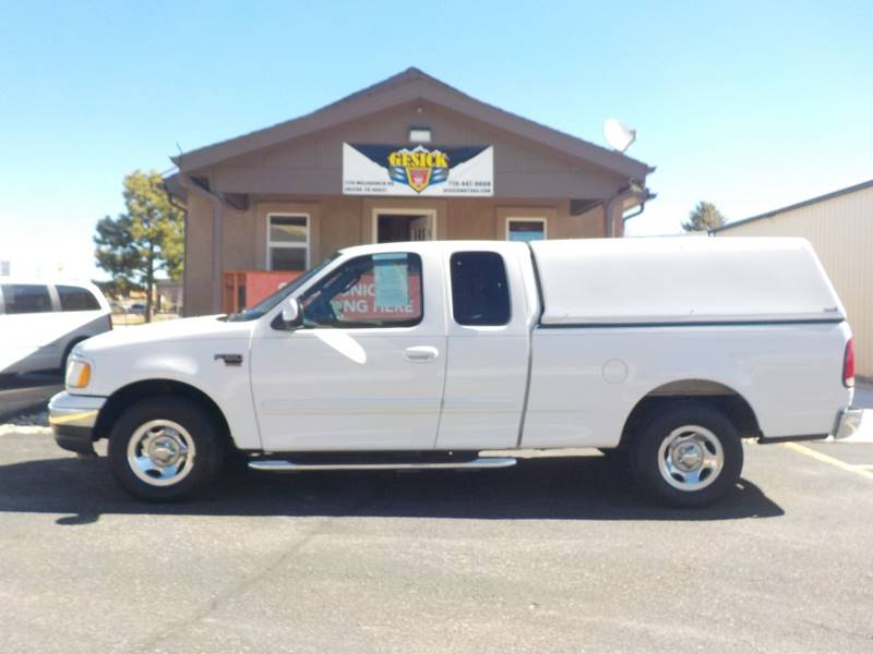 2003 Ford F-150 4dr SuperCab XLT Rwd Styleside SB - Falcon CO