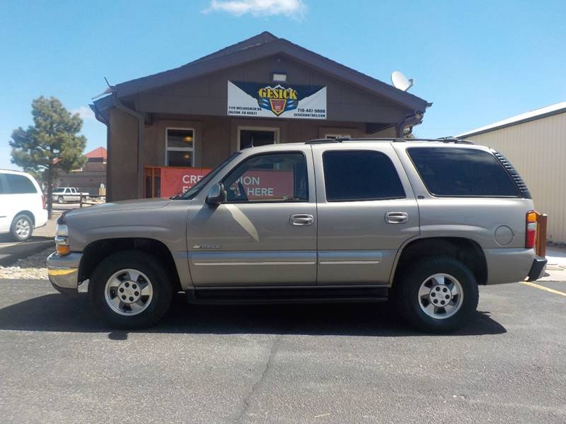 2003 Chevrolet Tahoe LT 4WD 4dr SUV - Falcon CO