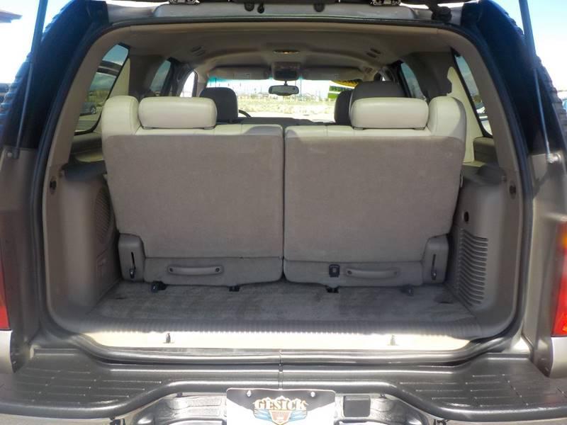 2003 Chevrolet Tahoe LT 4WD 4dr SUV - Falcon CO