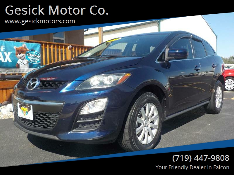 2012 Mazda CX 7 For Sale At Gesick Motor Co. In Falcon CO
