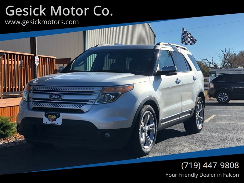 2013 Ford Explorer Limited In Falcon Co Gesick Motor Co