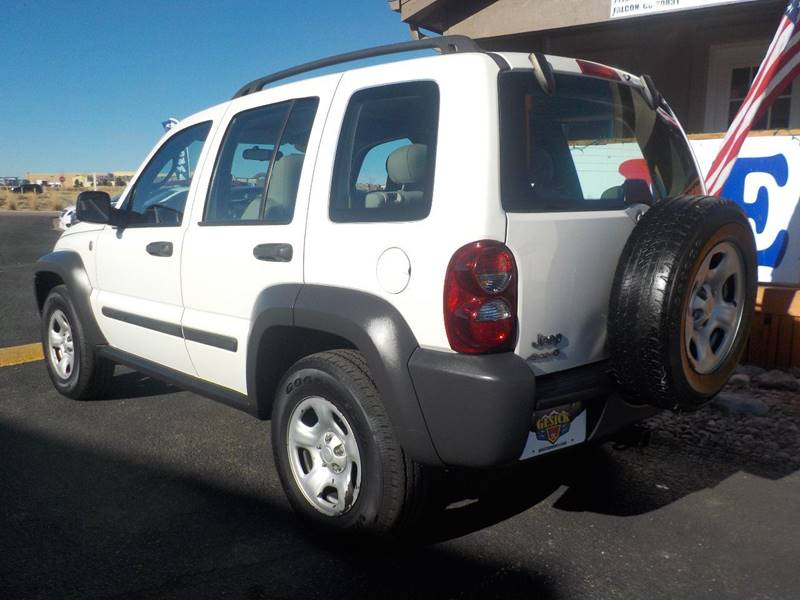 2007 Jeep Liberty Sport 4dr SUV 4WD - Falcon CO