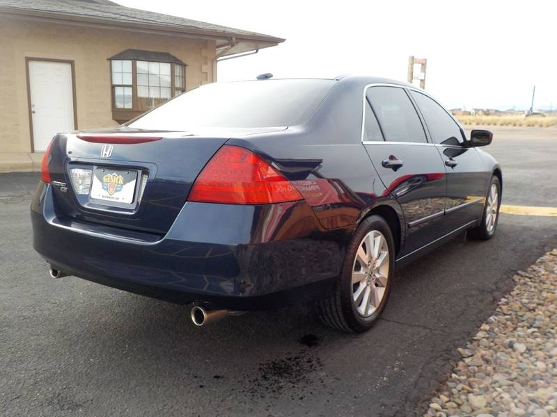 2007 Honda Accord EX-L V-6 4dr Sedan (3L V6 5A) - Falcon CO