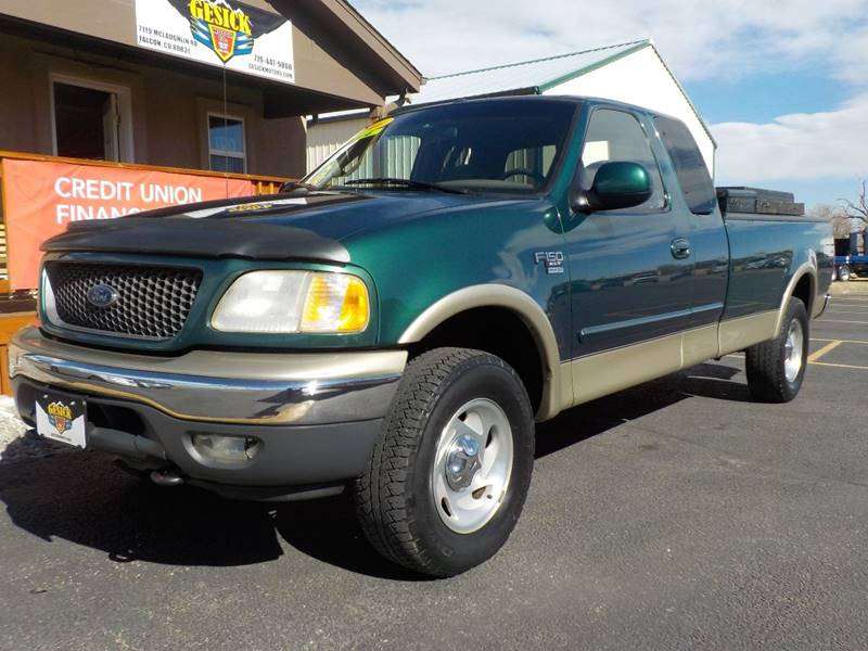 2000 Ford F-150 4dr XLT 4WD Extended Cab LB - Falcon CO