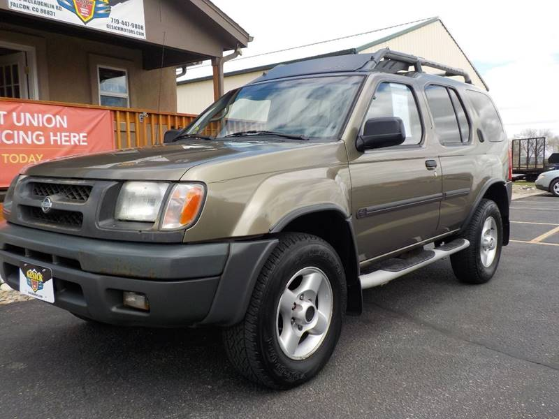2001 Nissan Xterra 4dr XE V6 4WD SUV - Falcon CO