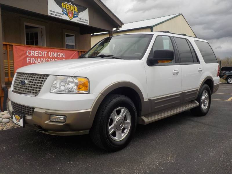 2004 Ford Expedition Eddie Bauer 4WD 4dr SUV - Falcon CO