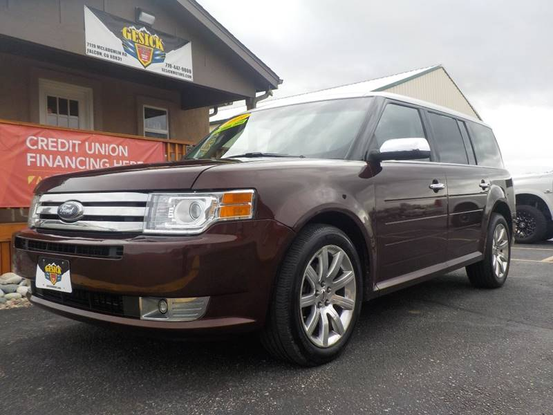 2009 ford flex limited in falcon co gesick motor co