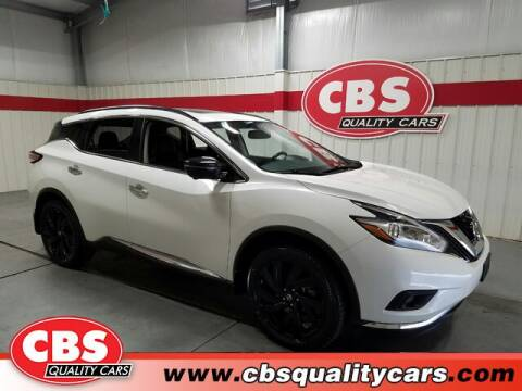 2017 Nissan Murano for sale at CBS Quality Cars in Durham NC