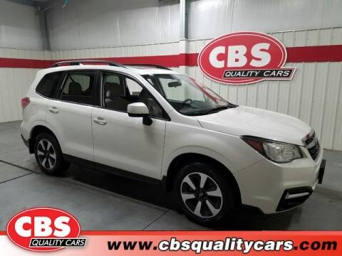 2017 Subaru Forester for sale at CBS Quality Cars in Durham NC