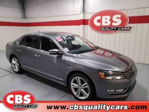 2014 Volkswagen Passat for sale at CBS Quality Cars in Durham NC