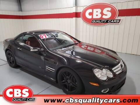 2007 Mercedes-Benz SL-Class for sale at CBS Quality Cars in Durham NC