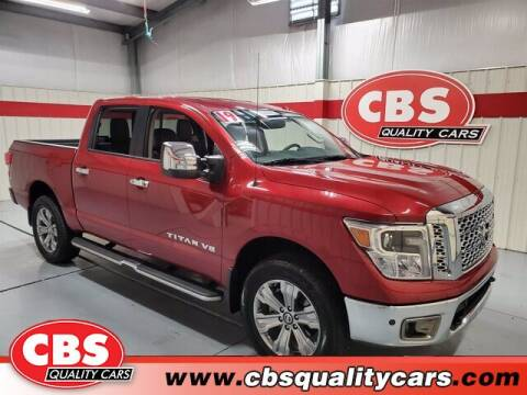 2019 Nissan Titan for sale at CBS Quality Cars in Durham NC