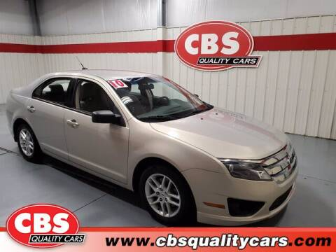 2010 Ford Fusion for sale at CBS Quality Cars in Durham NC