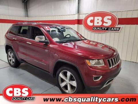 2016 Jeep Grand Cherokee for sale at CBS Quality Cars in Durham NC