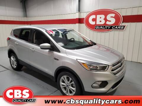 2019 Ford Escape for sale at CBS Quality Cars in Durham NC