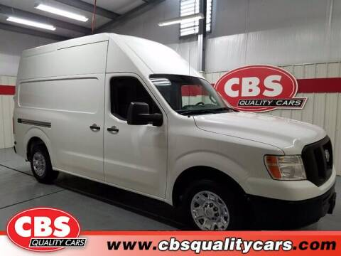 2015 Nissan NV Cargo for sale at CBS Quality Cars in Durham NC