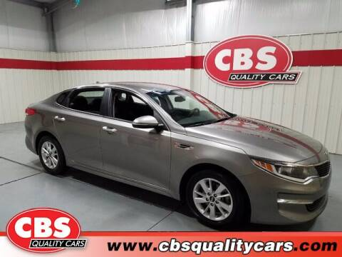 2016 Kia Optima for sale at CBS Quality Cars in Durham NC