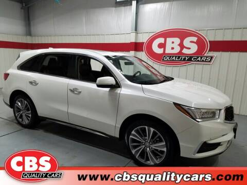 2018 Acura MDX for sale at CBS Quality Cars in Durham NC