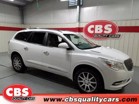 2017 Buick Enclave for sale at CBS Quality Cars in Durham NC