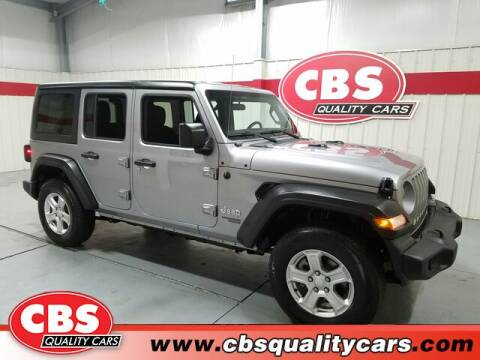 2020 Jeep Wrangler Unlimited for sale at CBS Quality Cars in Durham NC