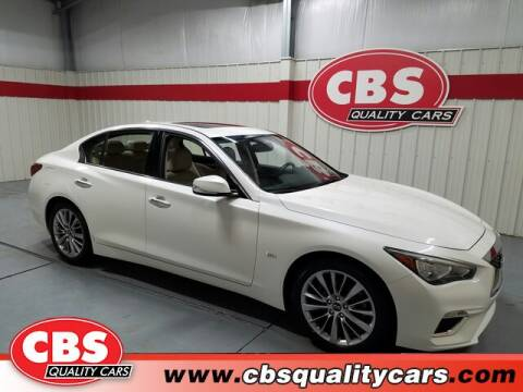 2019 Infiniti Q50 for sale at CBS Quality Cars in Durham NC