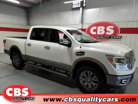 2017 Nissan Titan for sale at CBS Quality Cars in Durham NC