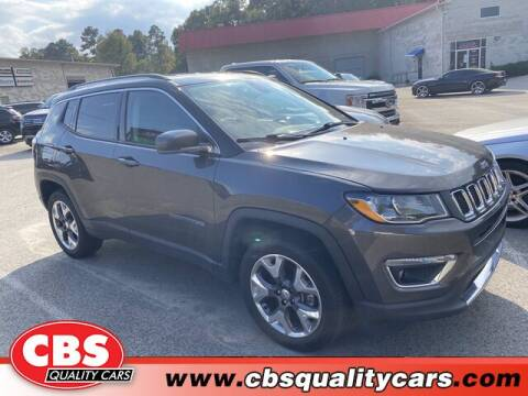 2018 Jeep Compass for sale at CBS Quality Cars in Durham NC